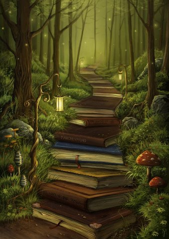 Reading books is a perfect path for a happy successful life...